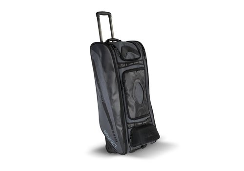Bownet Cadet Wheeled Catcher's Bag Black