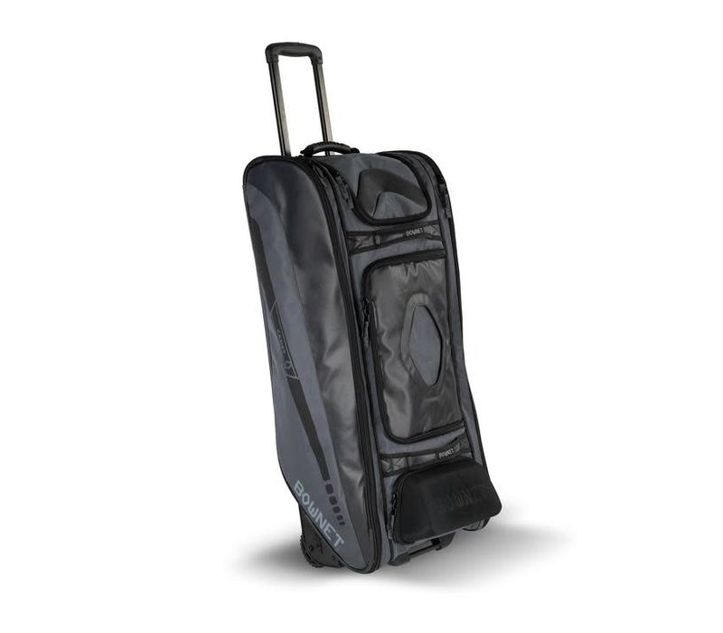 Cadet Wheeled Catcher's Bag Black