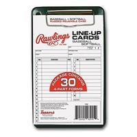Rawlings Lineup Card w/Case