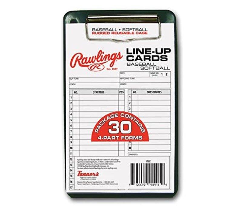 Lineup Card w/Case
