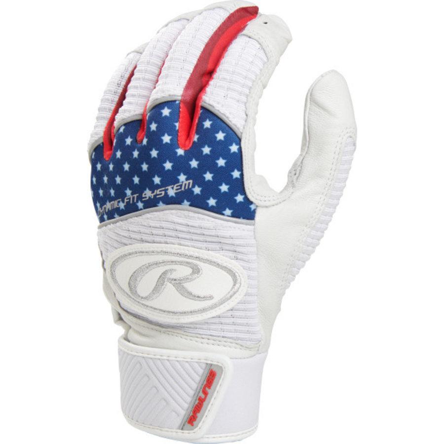 Rawlings Workhorse Youth Baseball Batting Gloves