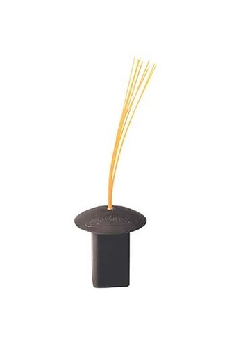 Markwort Black Base Plug W/Orange Bristles