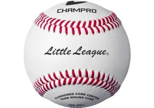 Champro Sports Little League Game RS - Cork/Rubber Core - Genuine Leather Cover Baseballs - Dozen