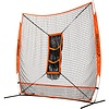 "Champro Sports MVP Portable Training Net with TZ3 Training Zone - 7"" x 7"" Bulk Packaging"
