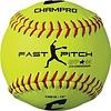 "Champro Sports Champro  12"" Fast Pitch - Durahide Cover .44 COR CSB18 Softballs"