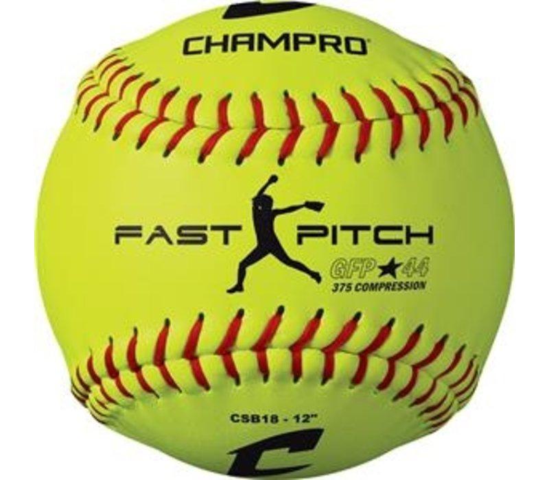 "12"" Fast Pitch - Durahide Cover .44 COR CSB18 Softballs"