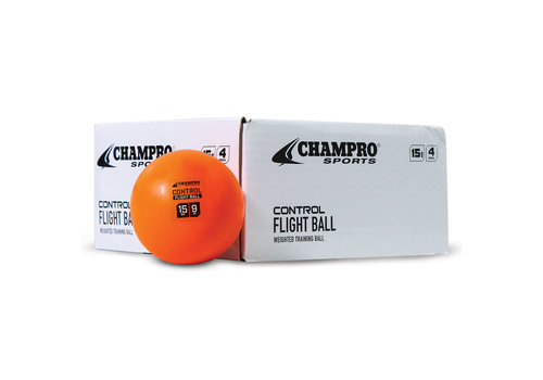 "Champro Sports 9"" Control Flight Ball - 4pk"