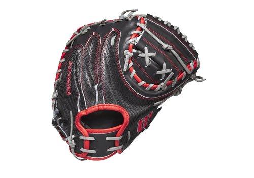 """Wilson June 2020 GOTM Mitch Garver A200 1790 34"""" Baseball Catcher's Mitt"""