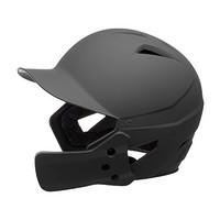 Champro HX Gamer Plus Batting Helmet w/Jaw Guard - Black