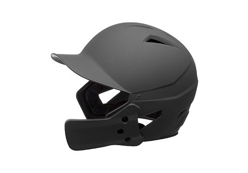 Champro HX Gamer Plus Batting Helmet w/Jaw Guard - Black