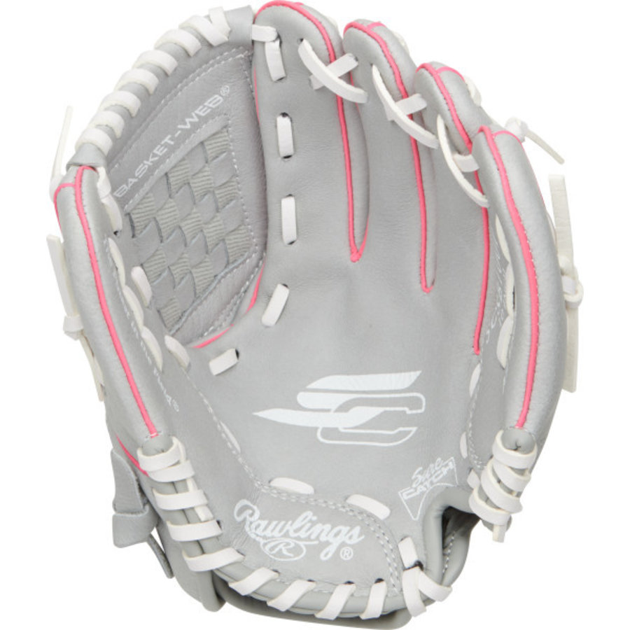 "Rawlings Sure Catch 10"" Youth Fastpitch Glove SCSB100P"