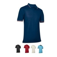 Champro Men's Umpire Polo Navy Adult Large