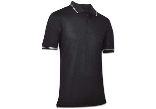 Champro Men's Umpire Polo Black Adult Large