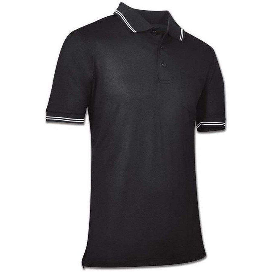 Champro Men's Umpire Polo Black Adult Large
