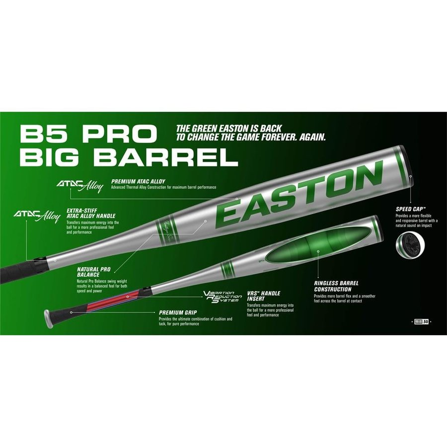 Easton 2021 B5 Pro BBCOR Baseball Bat