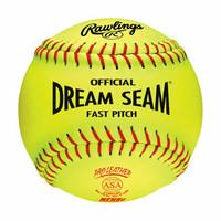 """Rawlings NFHS Dream Seam 12"""" Softball - 1 Dozen"""