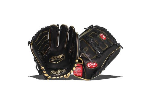 "Rawlings 2021 R9 Series 12"" Youth Infield Glove R9206-9BG"