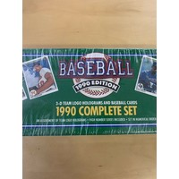 "Upper Deck ""The Collectors Choice"" 1989 & 1990 Baseball Card Bundle"