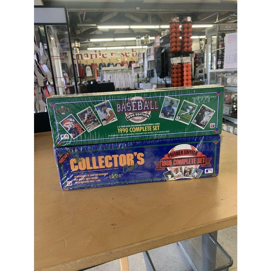 "Upper Deck ""The Collectors Choice"" 1989 & 1990 Baseball Card Bundle"