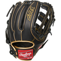 "Rawlings 2021 R9 Series 11.75"" Youth Infield Baseball Glove R9315-6BG"