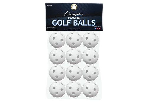 Champion Golf Wiffle Balls 1 Dozen