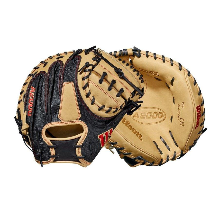 """Wilson 2021 A2000 M2SS 33.5"""" Baseball Catcher's Mitt"""