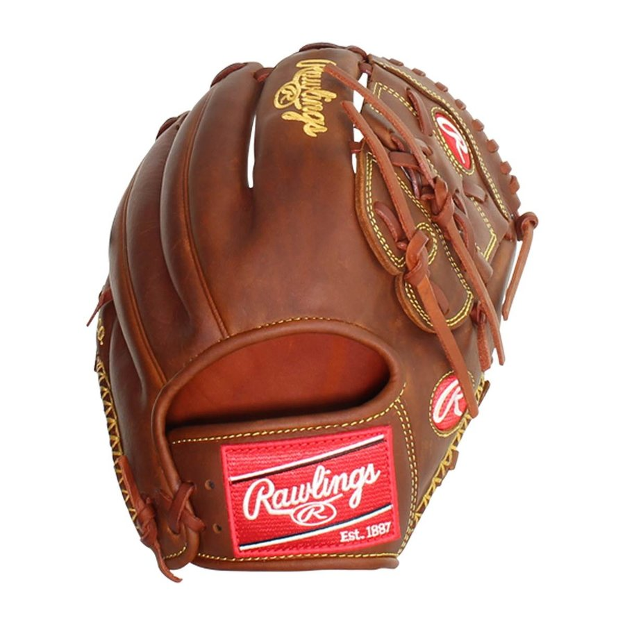 """Rawlings Heart of the Hide 11.75"""" Infield/Pitcher's Baseball Glove PRO205-9TI"""