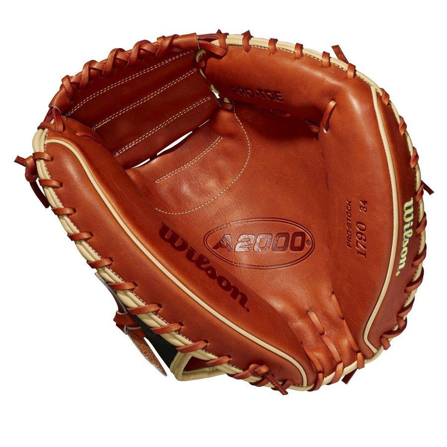 """Wilson 2021 A2000 1790SS 34"""" Baseball Catcher's Mitt"""