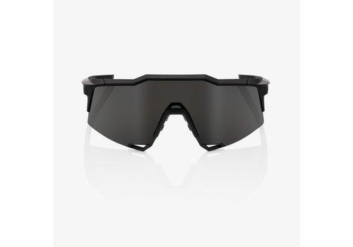 100% Speedcraft Soft Tact Black Smoke Lens Sunglasses