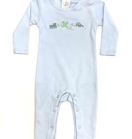Fleur de leigh Light Blue Transport Romper