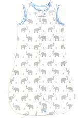 Swaddle Designs Zip Me Flannel Sleep Sack Elephants And Chicks