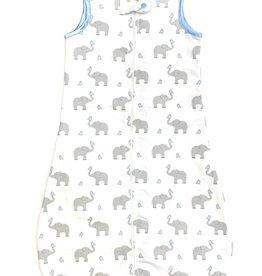Zip Me Flannel Sleep Sack Elephants And Chicks