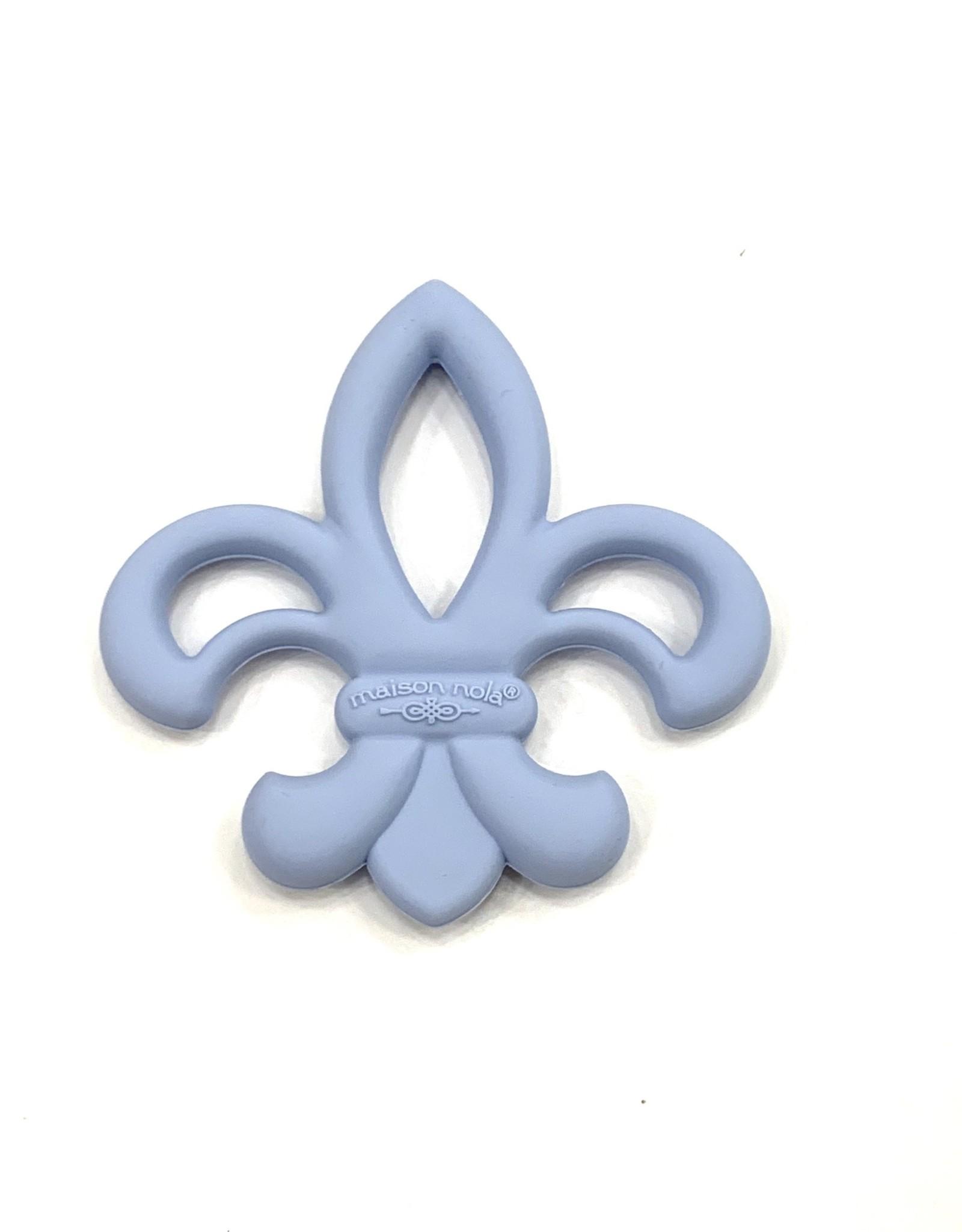 Maison Nola Tiny Tchoups Fleurdelis Teether