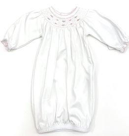 Magnolia Baby Nora and Nolan's Classics Bishop Gown Pink