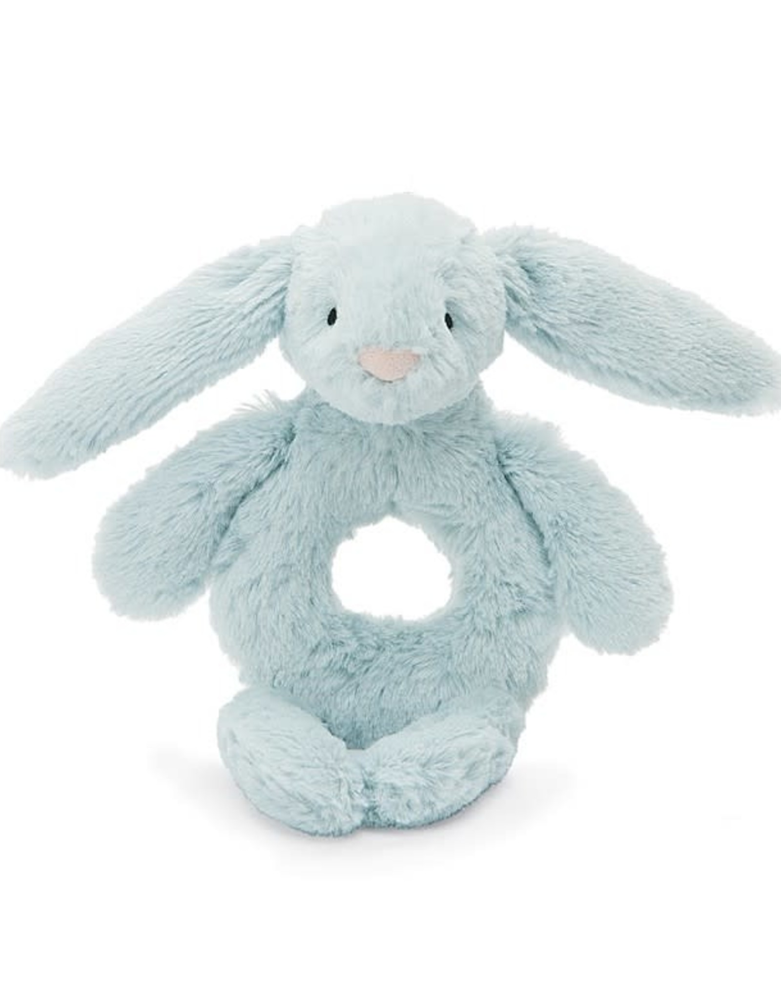 Jelly Cat Bashful Beau Blue Bunny Rattle