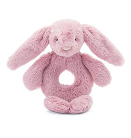 Jelly Cat Bashful Pink Bunny Rattle