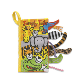 Jelly Cat Jungle Tails Book
