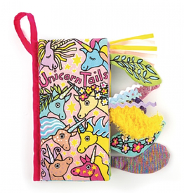 Jelly Cat Unicorn Tails Book