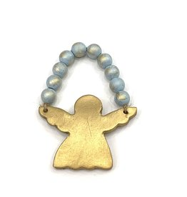 Lindsey Merlerine Designs Angel Bead Ornament