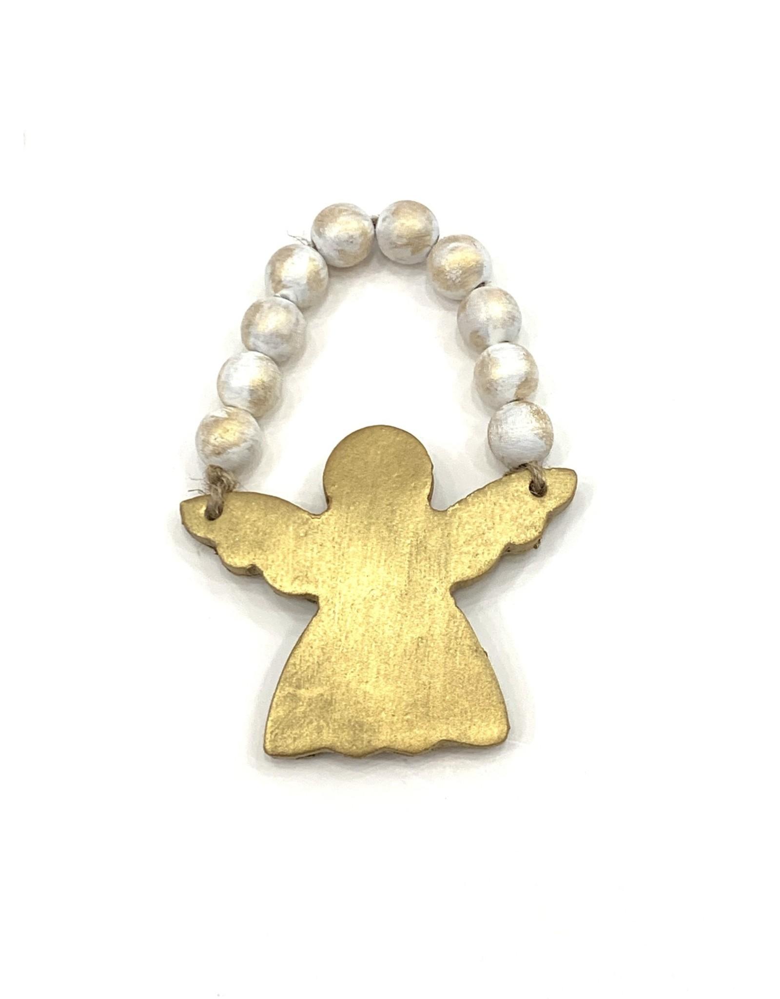 Lindsey Merlerine Designs Angel Bead Ornament