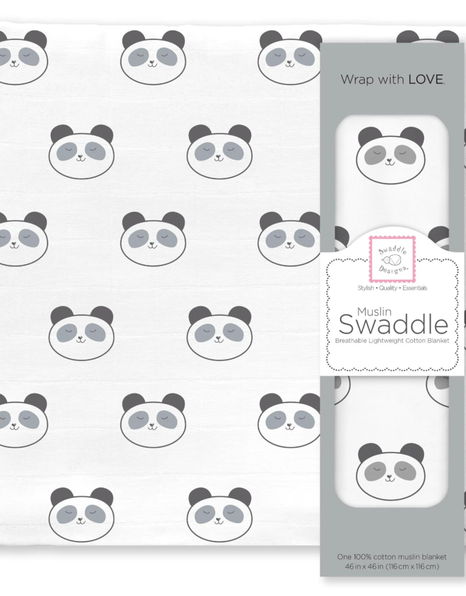 Swaddle Designs Panda Face Swaddle