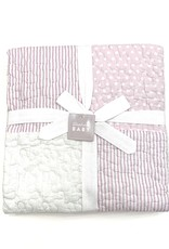 Stephan Baby Pink Dot Girl Quilt