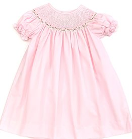 Sweet Dreams Nicky Pink Smocked Dress