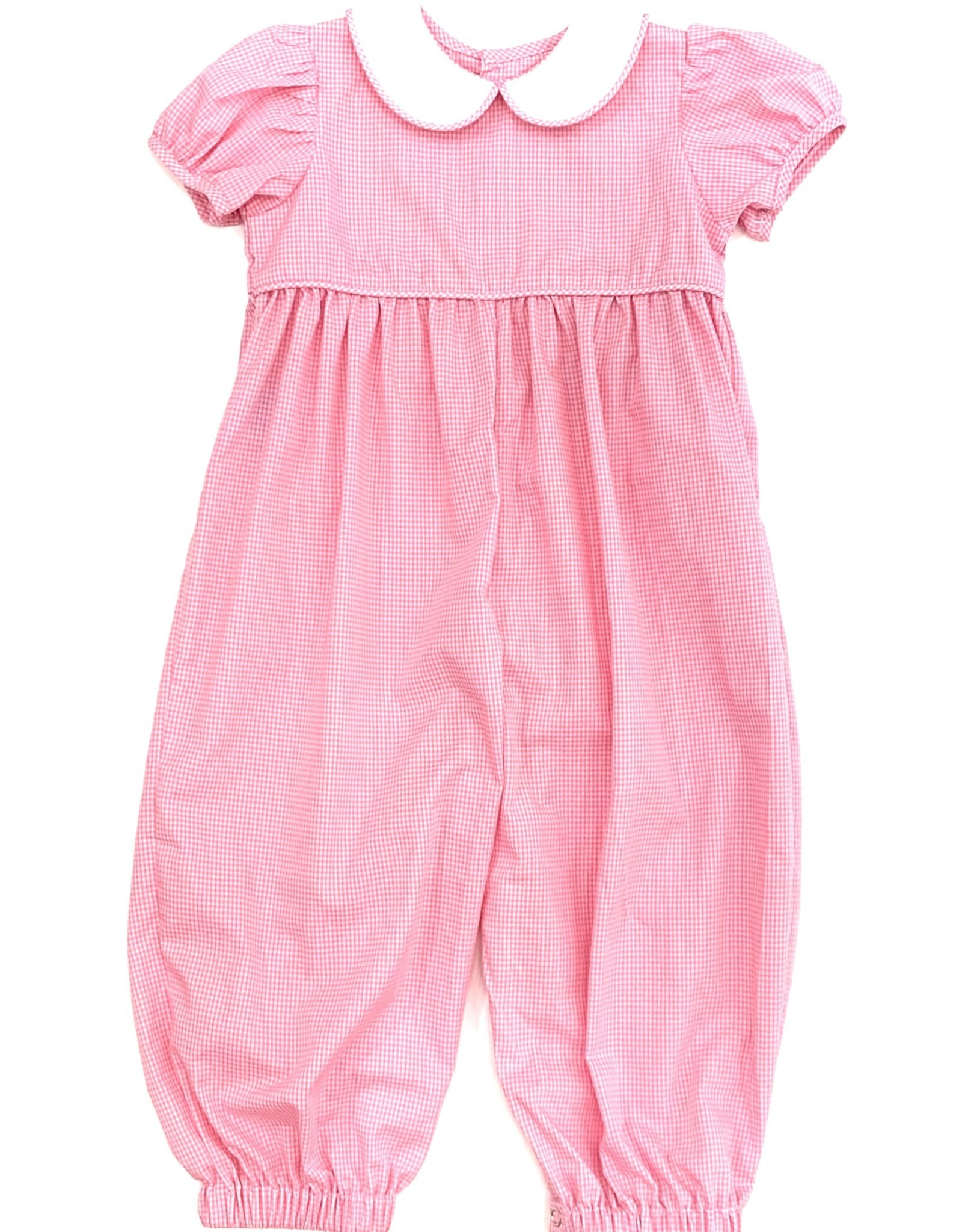 Remember Nguyen Pink Girl Long Romper