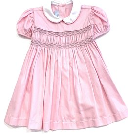 Pixie Lilly Smocked Pink Pique