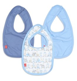 Magnetic Me Blue Taj Bibs