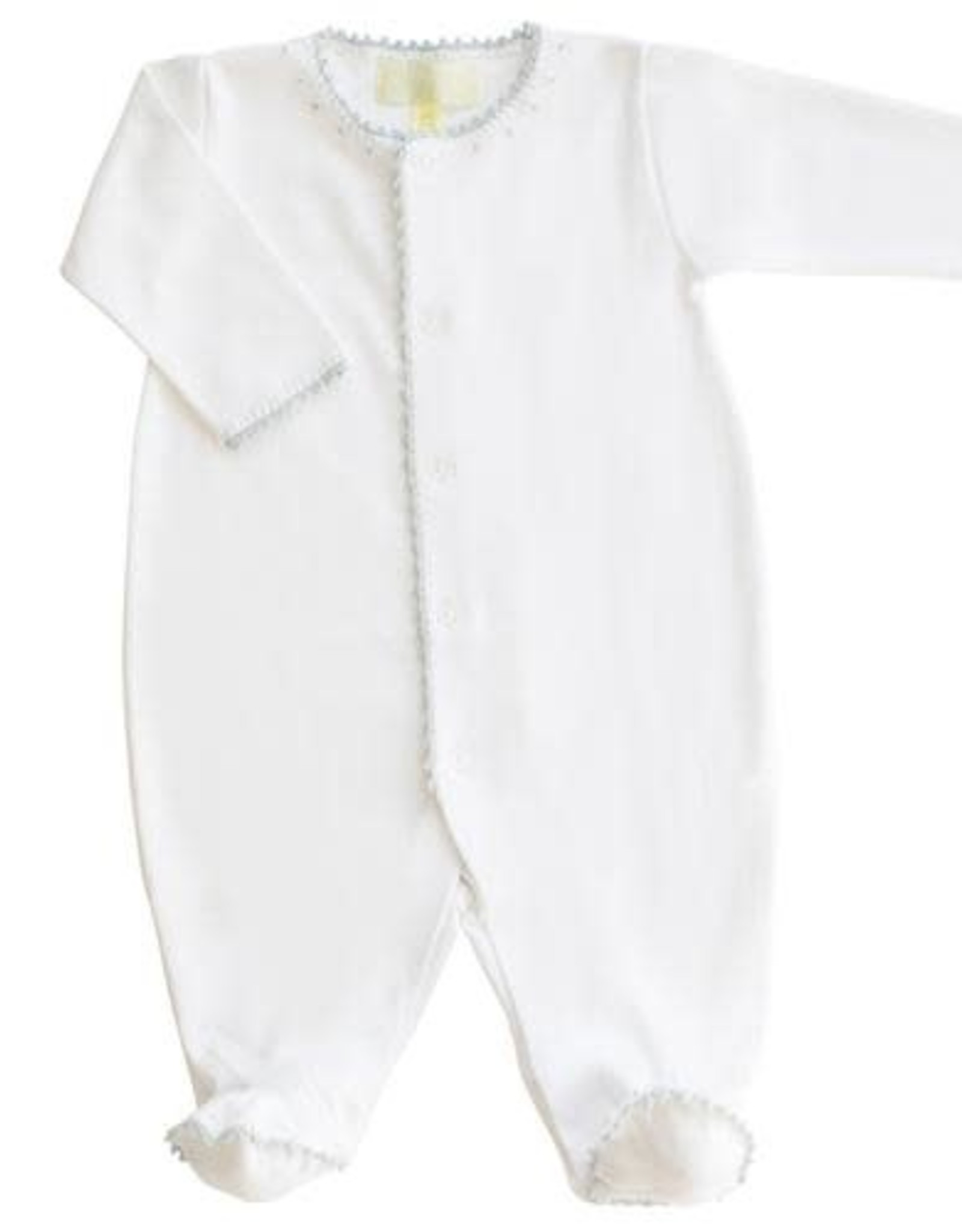 Pixie Lilly Jersey Footy Romper Blue