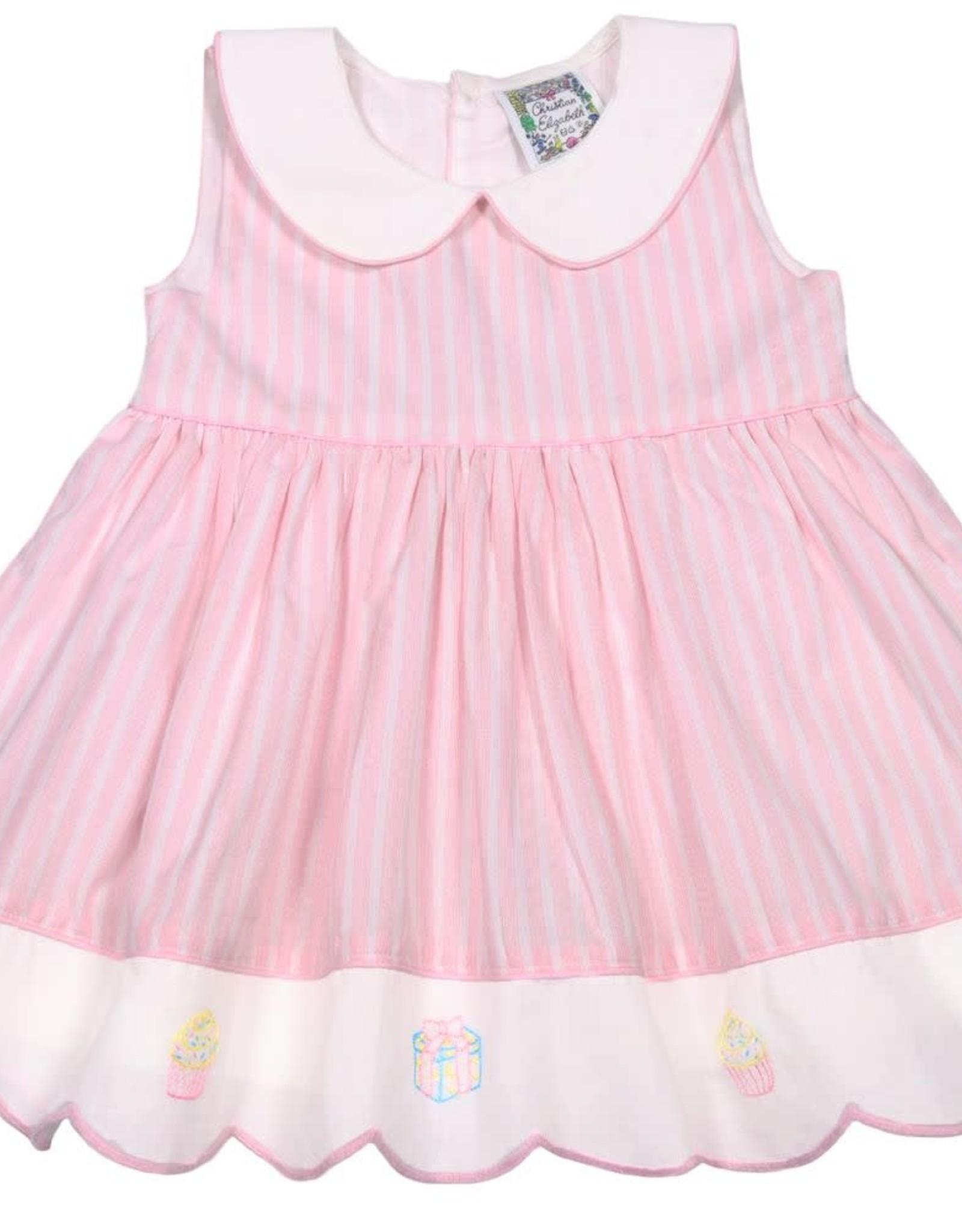 Christian Elizabeth Pink Charlestown Celebration Dress