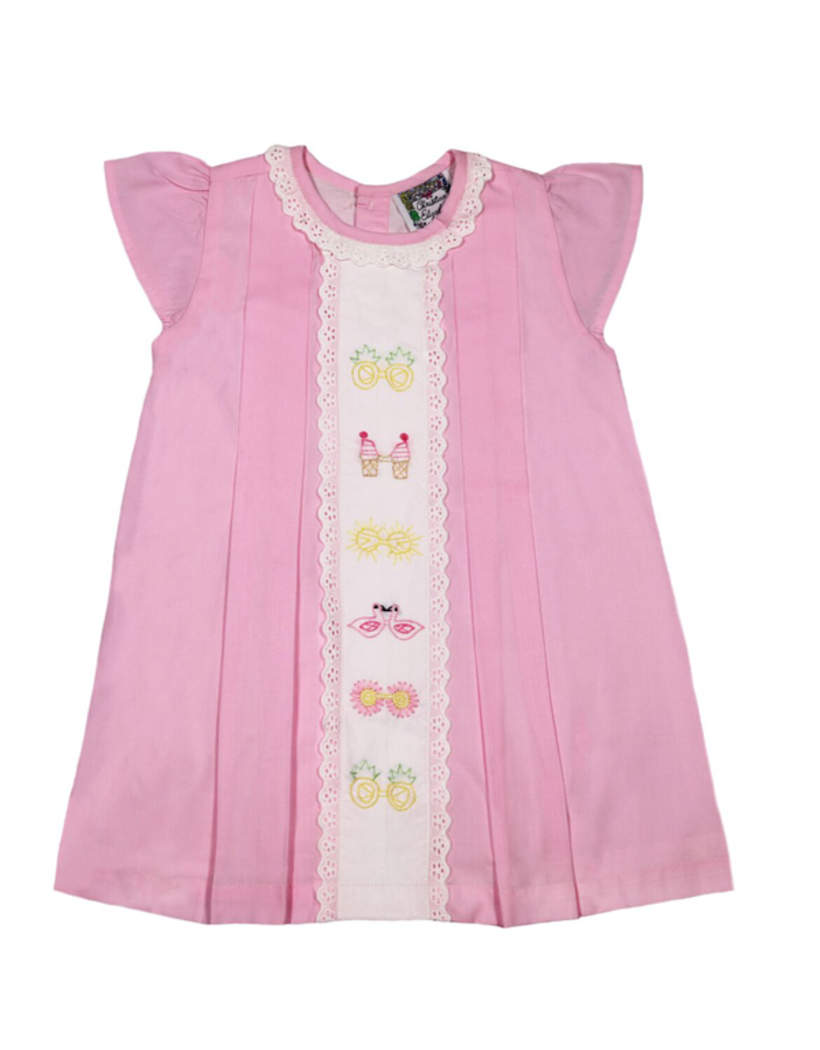Christian Elizabeth Pink Whitby Shades Dress
