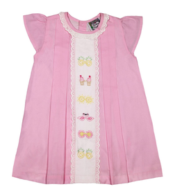 Christian Elizabeth Pink Whitby Shades Dress